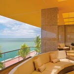 The Ocean View Lounge at the Hyatt Regency Trinidad