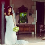 A bride. Photo Yaisa Tangwell via the Villas at Stonehaven Tobago
