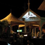 Coco Lounge, one of many bars and nightclubs on Ariapita Avenue in Woodbrook. Photographer: Aisha Provoteaux