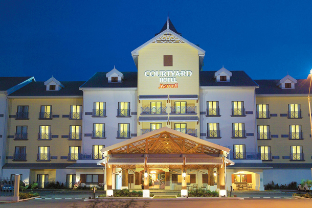 The Courtyard by Marriott just outside Port of Spain. Courtesy the T&T Business Guide