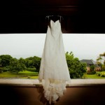 A wedding dress. Photo Yaisa Tangwell via the Villas at Stonehaven Tobago