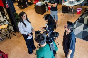 Filming A Story About Wendy 2. Photo: Anthony Keung Fatt