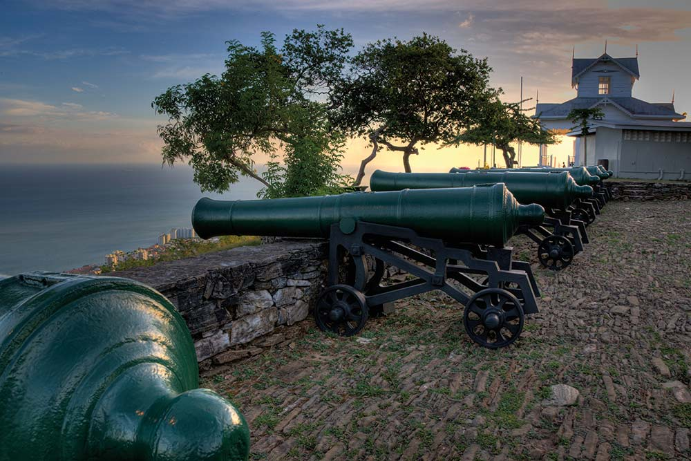 Fort George, Trinidad. Photo: William Barrow