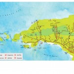 Map of Chaguaramas, Trinidad. Copyright MEP Publishers.
