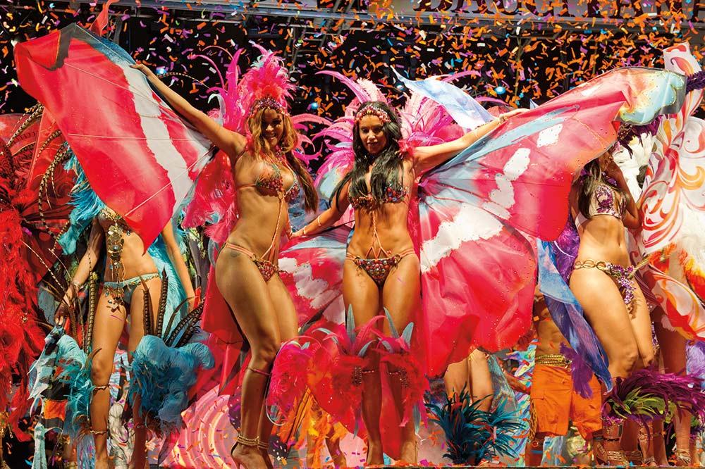 Tribe Carnival band launch Trinidad. Photo: Ryan Kong