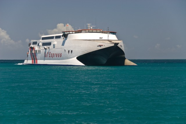 Trinidad & Tobago Express Ferry. Photographer: Martin Farinha