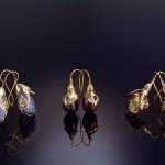 Hand-crafted earrings by Jasmine Thomas Girvan of Trinidad