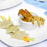 Tobago curried crab with star-shaped dumplings
