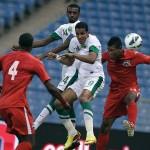 Trinidad & Tobago Soca Warriors in action. Photo courtesy the Trinidad & Tobago Football Federation (www.ttffonline.com)