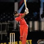 Trinidad's Kieron Pollard hits Tonge for 6