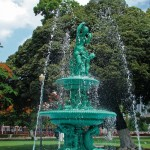 The fountain in Woodford Square, Port of Spain, Trinidad. Photo: Ryan Kong