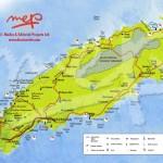 Map of Tobago. Copyright MEP Publishers 2013