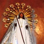 Siparee Mai - the Black Virgin or the Black Madonna. Photo: Ariann Thompson