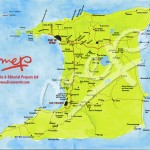 Map of Trinidad. Copyright MEP Publishers