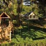 The beautiful Lopinot estate and historical complex in Trinidad