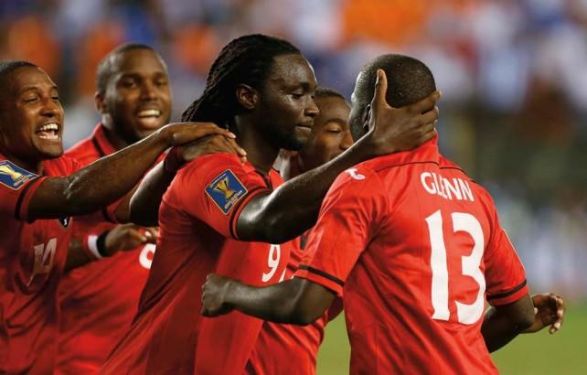 Trinidad & Tobago Soca Warriors captain and star striker Kenwynne Jones