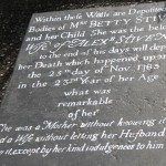 The Mystery Tombstone in Tobago. Photographer: Caroline Taylor