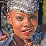 Former Miss Universe 1998 Wendy Fitzwilliam at Carnival. Photographer: Martin Farinha