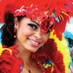 Tribe masquerader, Arveyann Thomas, at Trinidad Carnival. Photographer: Troy Marshall (www.troymarshall.net)