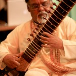 Sitarist and composer Mungal Patasar. Photographer: Andrea de Silva