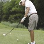 Golf pro Stephen Ames. Photographer: Anton Modeste