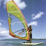 Pigeon Point is ideal for windsurfing. Photographer: Alex Smailes