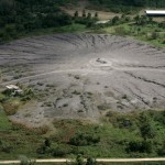 The mud volcano at Piparo in southern Trinidad. Photographer: Andrea de Silva