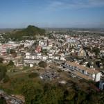 The San Fernando Hill, a landmark in the southlands. Photographer: Andrea de Silva