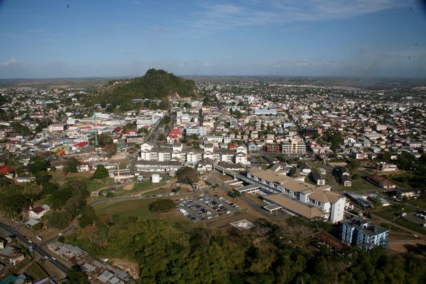 The San Fernando Hill, a landmark in the southlands. Photographer: Andrea de Silva
