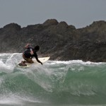 Surfing in Toco. Photographer: Skene Howie