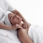 A relaxing massage spa treatment. Photographer: Courtesy the Face & Body Clinic
