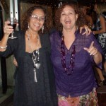 Roses Hezekiah (left) and Allyson Hennessy. Photographer: Courtesy Veni Mangé