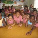 Turtle education. Photographer: Giancarlo Lalsingh/SOS Tobago