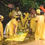 Gangaa Dhaara (Dasara) river festival celebrations. Photographer: Martin Farinha