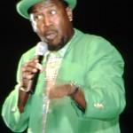 Popular local MC and comedian Tommy Joseph. Photographer: Sean Drakes/Blue Mango