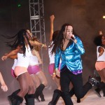 The 2011 International Groovy Soca Monarch Kees Dieffenthaller. Photographer: Courtesy Carnival TV