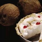 Coconut cream pie. Photographer: Mark Lyndersay