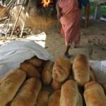 Castara clay bread oven. Photographer: Skene Howie