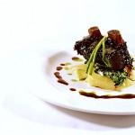 A delectable gourmet lamb dish. Photographer: Courtesy Battimamzelle restaurant