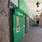 A First Citizens Bank ATM (ABM) at MovieTowne, Port of Spain. Photographer: Aisha Provoteaux
