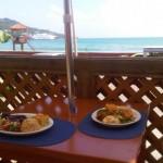 Ocean view dining. Photographer: Courtesy Bar Code