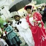 The Moriah wedding, a Tobago Heritage Festival original. Photographer: Alex Smailes
