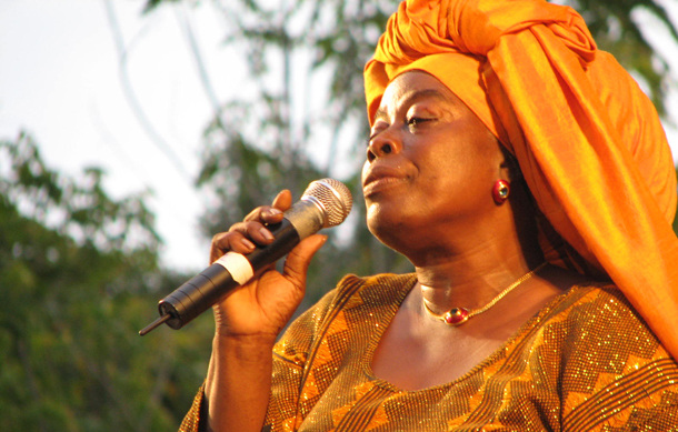 Orisha songstress Ella Andall. Photographer: Caroline Taylor