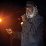 "Tobago-born calypsonian Winston ""Shadow"" Bailey. Photographer: Mark Lyndersay"