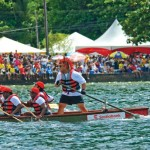 Dragon boat racing. Photographer: Martin Farinha