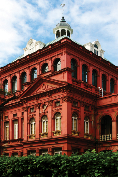 The Red House, seat of the T&T parliament, in Port of Spain. Photographer: Marc Seyon