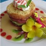 Delicious gourmet seafood. Photographer: Courtesy the Seahorse Inn