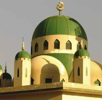 The St. Joseph mosque. Photographer: Bertrand de Peaza