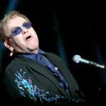 Pop star Elton John at Tobago Jazz. Photographer: Andrea de Silva