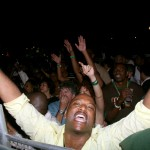 Time to leggo: partying in Trinidad. Photographer: Andrea de Silva